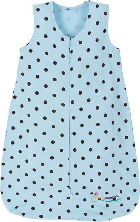 Miracle Sleeper®: Blue Choc Polka Dots