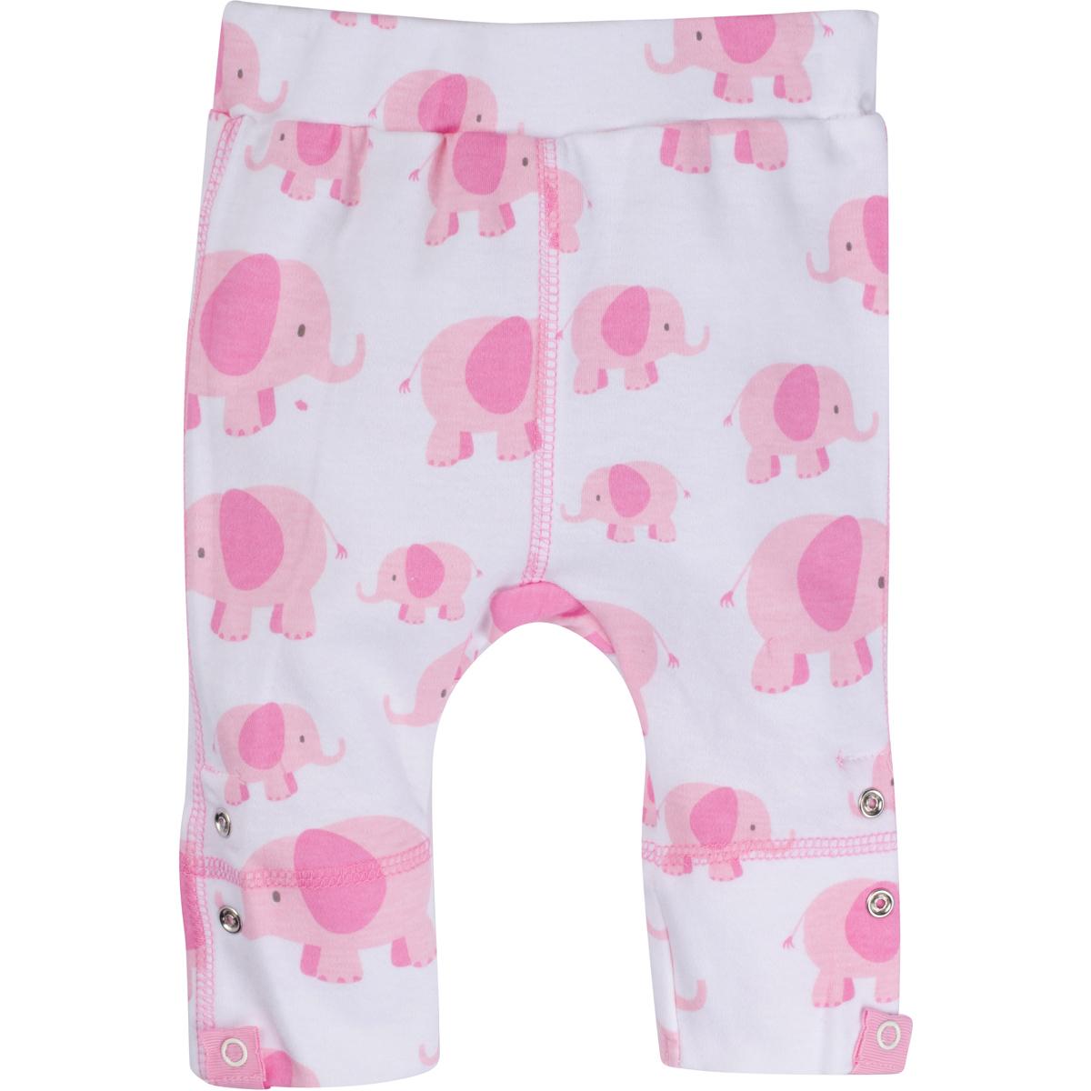 Pink Elephant Adjustable Pants